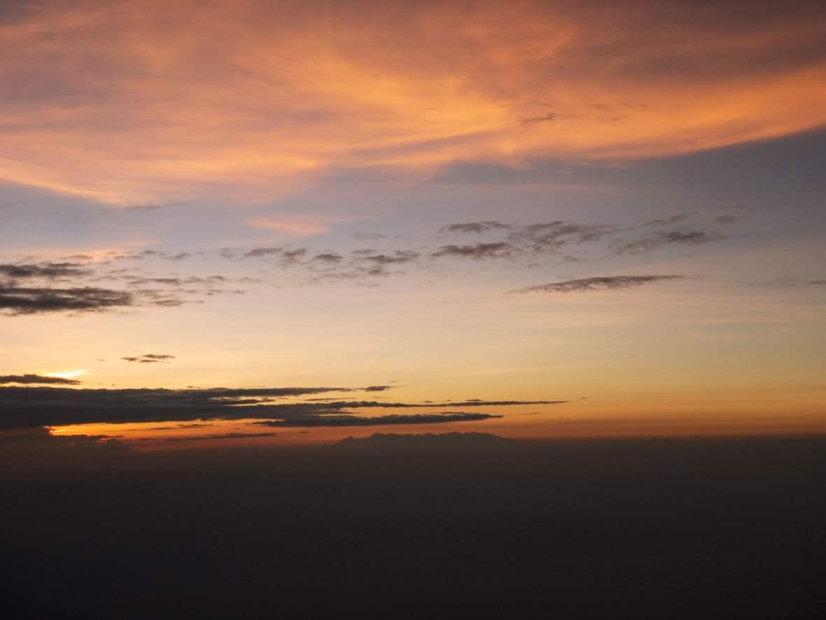 Sunsetfromthesky